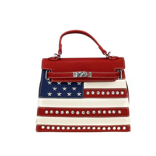 US20-812 Montana West American Pride Collection Sacthel/Crossbody - Montana West World