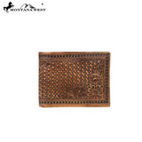 BR-204 Genuine Tooled Leather Collection Men's Wallet - Montana West World