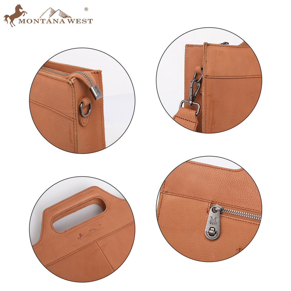 Genuine Leather Laptop Case - Montana West World