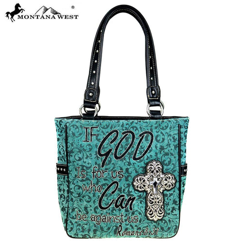 Bible Verse A Tote Bag - Montana West World