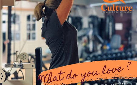 What do you love about going to the gym?
