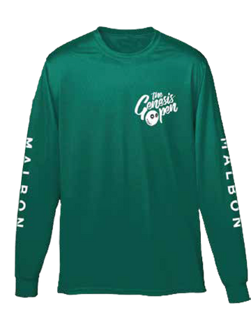 Genesis Open Long Sleeve T-Shirt - Green