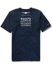 Genesis Open Short Sleeve T-Shirt - Navy