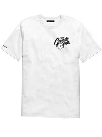 Genesis Open Short Sleeve T-Shirt - White