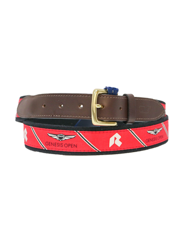 Genesis Open Logo Stripe Belt