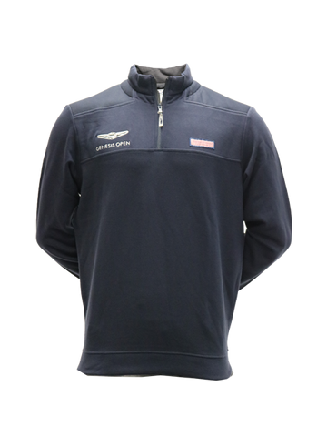 Genesis Open Quarter Zip Pullover - Navy