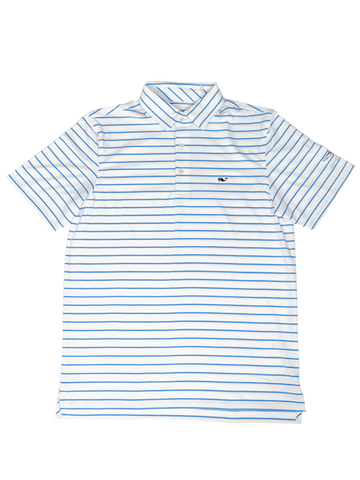 Genesis Open Sankaty Polo - Blue/White