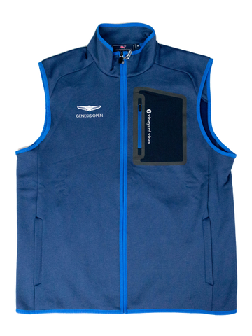 Genesis Open Powerstretch Vest - Blue