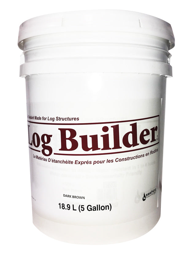 Log Builder  5 Gallons - Teintures Calfeutrants St-Tite