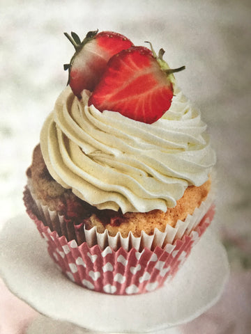 Gluten and Dairy Free Strawberry Cupcake Recipe