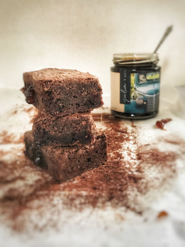 Gluten, Wheat and Dairy Free Seville Marmalade Brownies - Julia + son