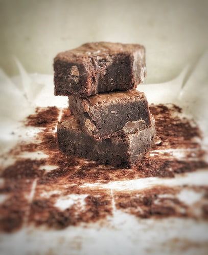Gluten, Wheat + Dairy Free Double Choc Brownies - Julia + son