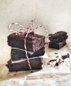 Vegan and Gluten Free Chocolate Brownies - Julia + son