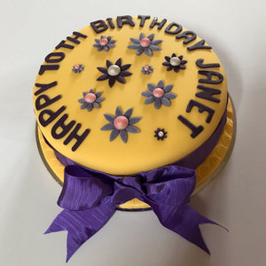 Gluten, Wheat and Dairy Free Birthday and Celebration Cake