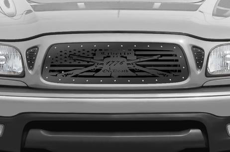 Toyota Tacoma Steel Grill ('01-'04) LIBERTY or DEATH - RacerX Customs | Truck Graphics, Grilles and Accessories