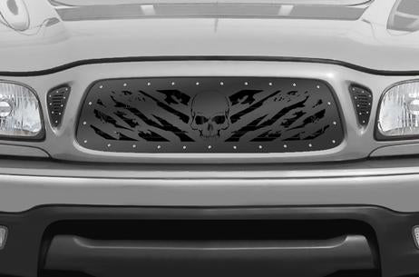 Toyota Tacoma Steel Grill ('01-'04) NIGHTMARE - RacerX Customs