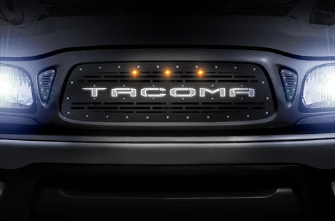 Toyota Tacoma X-LITE Grille ('01-'04) TACOMA with LED Lights - RacerX Customs