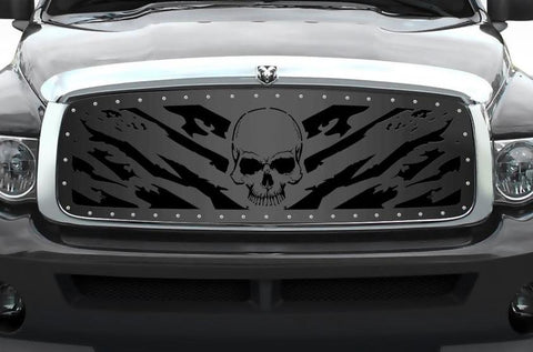 Dodge Ram Steel Grille ('02-'05) NIGHTMARE - RacerX Customs