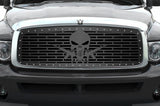 Dodge Ram Steel Grille ('02-'05) AR-15 PUNISHER - RacerX Customs