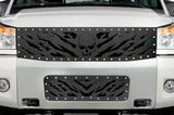 Nissan Armada Grille ('05-'07) Black Steel NIGHTMARE - RacerX Customs