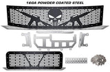 Nissan Armada Grille ('05-'07) Black Steel, AR-15 PUNISHER - RacerX Customs