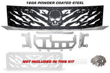 Nissan Titan Grille ('08-'14) Black Steel NIGHTMARE - RacerX Customs | Truck Graphics, Grilles and Accessories