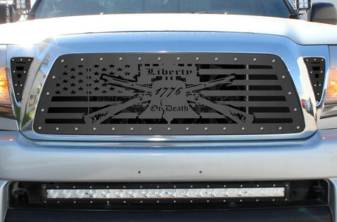 Toyota Tacoma Steel Grill ('05-'11) LIBERTY or DEATH - RacerX Customs