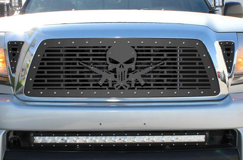 Toyota Tacoma Steel Grill ('05-'11) PUNISHER AR-15 - RacerX Customs