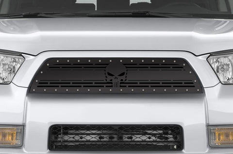 Toyota 4-Runner Steel Grille ('10-'13) PUNISHER - RacerX Customs | Truck Graphics, Grilles and Accessories