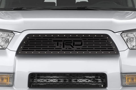 Toyota 4-Runner Steel Grille ('10-'13) TRD logo - RacerX Customs | Truck Graphics, Grilles and Accessories