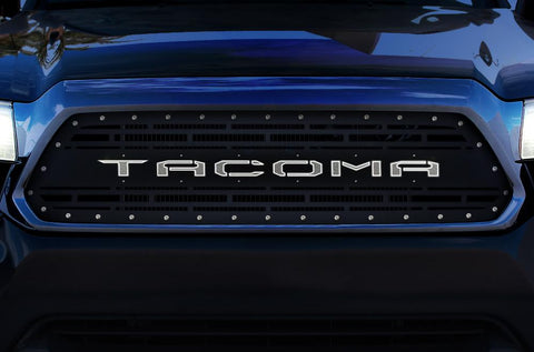 Toyota Tacoma LED X-Lite Grille ('12-'15) TACOMA Logo - RacerX Customs | Truck Graphics, Grilles and Accessories