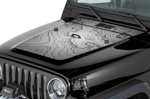 jeep wrangler hood graphics (1999 2006) map 2006 Chevy Cobalt Hood