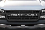 Chevy Silverado 1500/2500 Grille ('03-'07) Stainless Steel CHEVROLET - RacerX Customs
