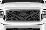 GMC Denali Grille ('14-'15) Black Steel - NIGHTMARE - RacerX Customs
