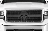 GMC Denali Grille ('14-'15) Black Steel - PUNISHER - RacerX Customs