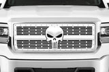 GMC Denali Stainless Steel Grille ('14-'15) PUNISHER - RacerX Customs