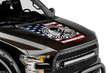 Ford F150 Hood Graphics (2015-2018) 2ND AMENDMENT - RacerX Customs