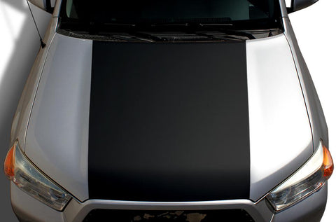 Toyota 4Runner Hood Wrap - All Black Vinyl (2010-2017) - RacerX Customs