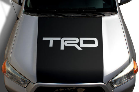 Toyota 4Runner Hood Wrap - Vinyl - TRD (2010-2017) - RacerX Customs