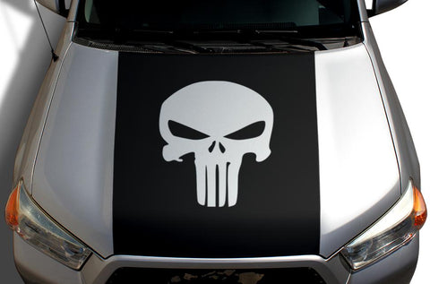 Toyota 4Runner Hood Wrap - Vinyl - Punisher (2010-2017) - RacerX Customs