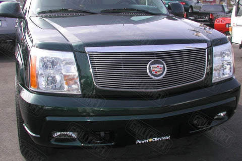 Cadillac Escalade Grille - Polished Aluminum Grille (2002-2006) - RacerX Customs