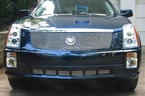 Cadillac SRX Grille - Polished Aluminum Grille (2004-2009) - RacerX Customs