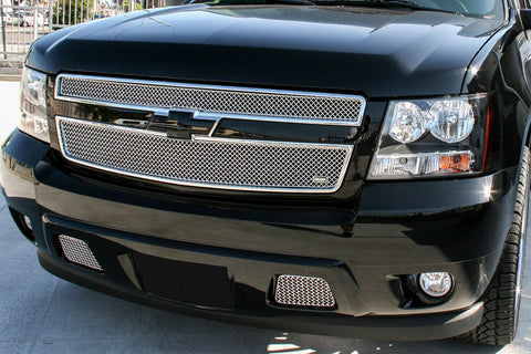 Chevy Avalanche Black Diamond Grille (2013) Stainless Steel Mesh - RacerX Customs