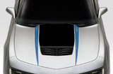 Chevy Camaro Vinyl Hood Stripes Kit (2010-2015) CAMARO - RacerX Customs