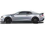 Chevy Camaro Vinyl Stripes Wrap Kit (2010-2015) Side Hash Stripes - RacerX Customs