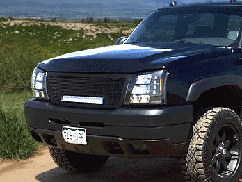 Chevy Silverado 2500 3500 Grille With Led Bar 2005 2006 Rc1x