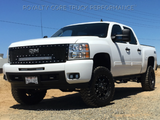 GMC Sierra 1500 Custom Grille with LED Bar (2014-2015) RC1X - RacerX Customs