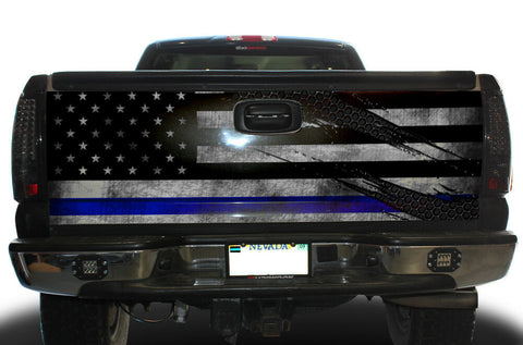 Chevy Silverado Tailgate Wrap/Graphics (1999-2007) TBL RIPPED - RacerX Customs