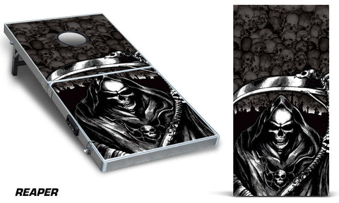 Cornhole Graphics - Thick Decal Graphics - Grim Reaper - RacerX Customs