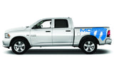 Dodge Ram 5.7 Bed Wrap Kit (2009-2018) Vinyl - Mopar - RacerX Customs